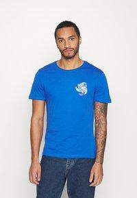 YOURTURN - UNISEX - T-shirt med print - blue - 0