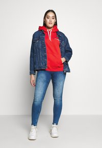 Lee Plus - HOODIE - Bluza z kapturem - red - 1