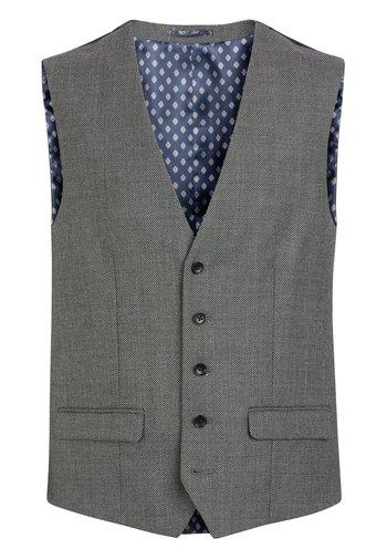 EMPIRE MILLS - Suit waistcoat - grey