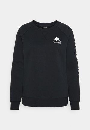 ELITE CREW - Sweatshirt - true black