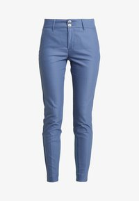 Mos Mosh - BLAKE NIGHT PANT SUSTAINABLE - Bukse - indigo blue