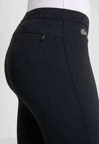 Lacoste Sport - Leggings - black/white - 3