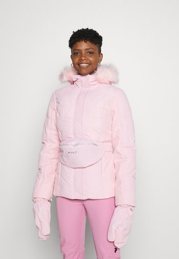 SKI JACKET WITH MITTENS AND BUMBAG