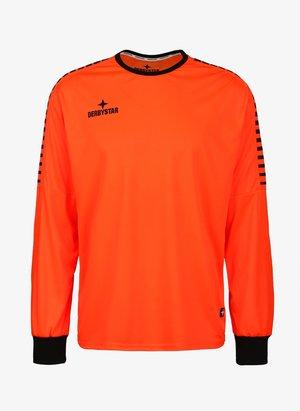 HYPER TORWART - Goalkeeper shirt - orange / schwarz
