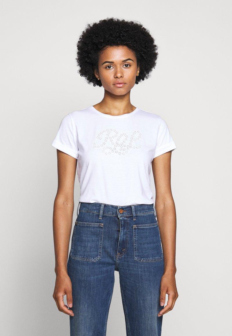 Lauren Ralph Lauren - UPTOWN - Print T-shirt - white