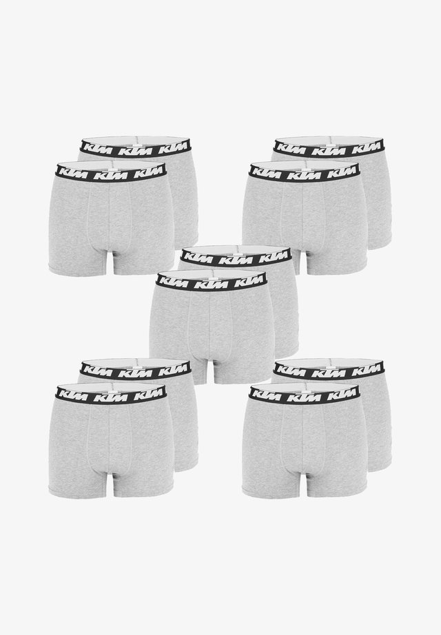10 Pack - Boxer shorts - light grey