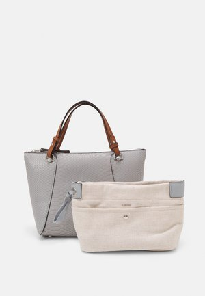 SNAKIE SET - Bolso de mano - light blue