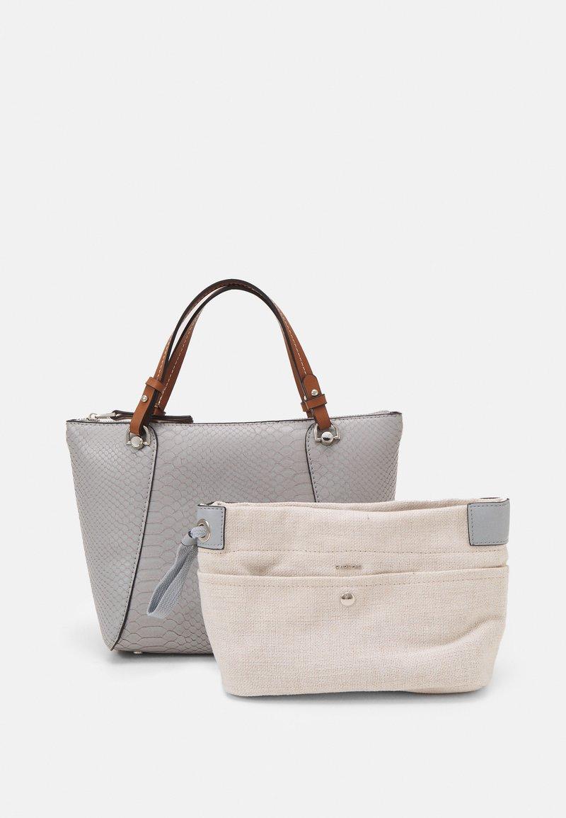 PARFOIS - SNAKIE SET - Handbag - light blue