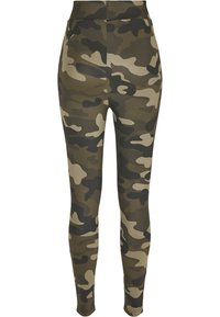 Urban Classics - Leggings - Trousers - wood camo - 7