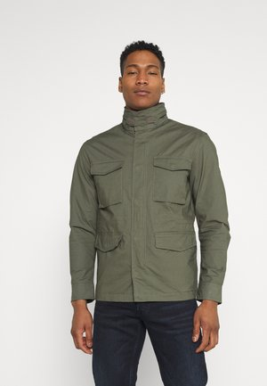 JPRFELIX FIELD JACKET - Summer jacket - beetle