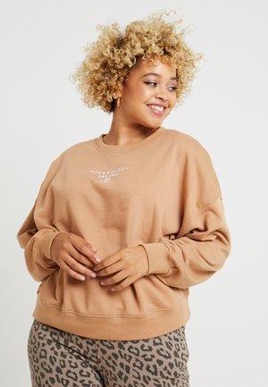 PLUS  - Sweatshirt - sand