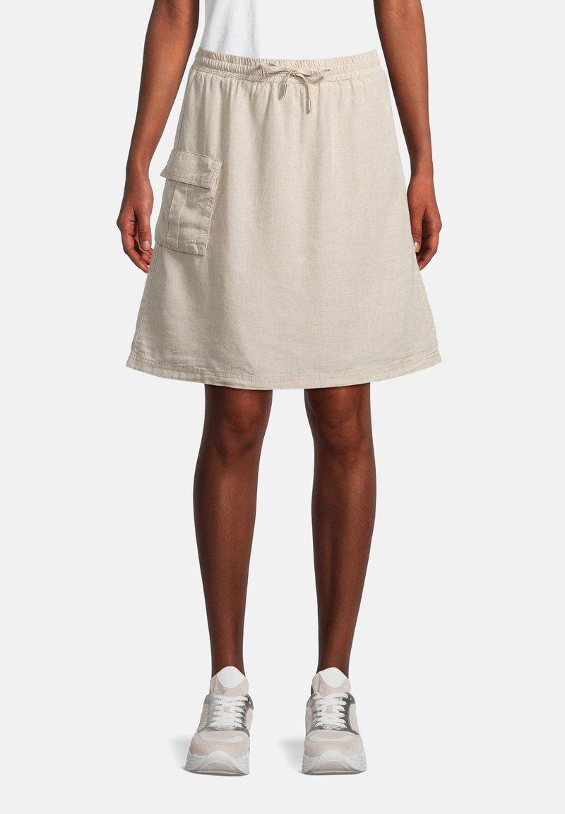 Cartoon - A-line skirt - nature melange