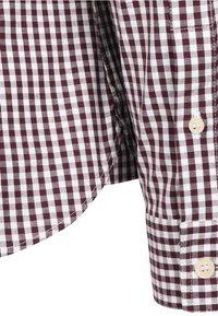 Lyle & Scott - SLIM FIT  - Skjorta - burgundy / white - 3