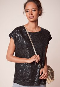 Next - SEQUIN - T-shirt imprimé - black - 2