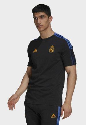 REAL MADRID TEE - Club wear - black