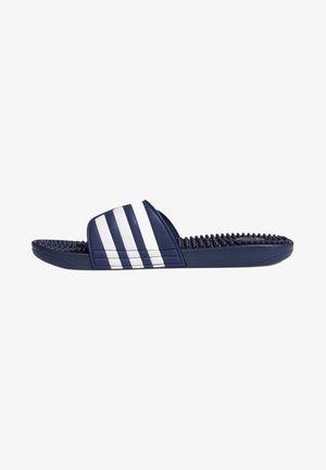 ADISSAGE SLIDES - Sandales de bain - blue