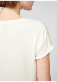 Q/S designed by - Basic T-shirt - cream - 4