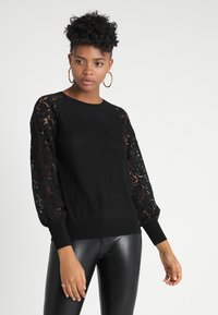 ONLY - ONLFLORA - Pullover - black - 0