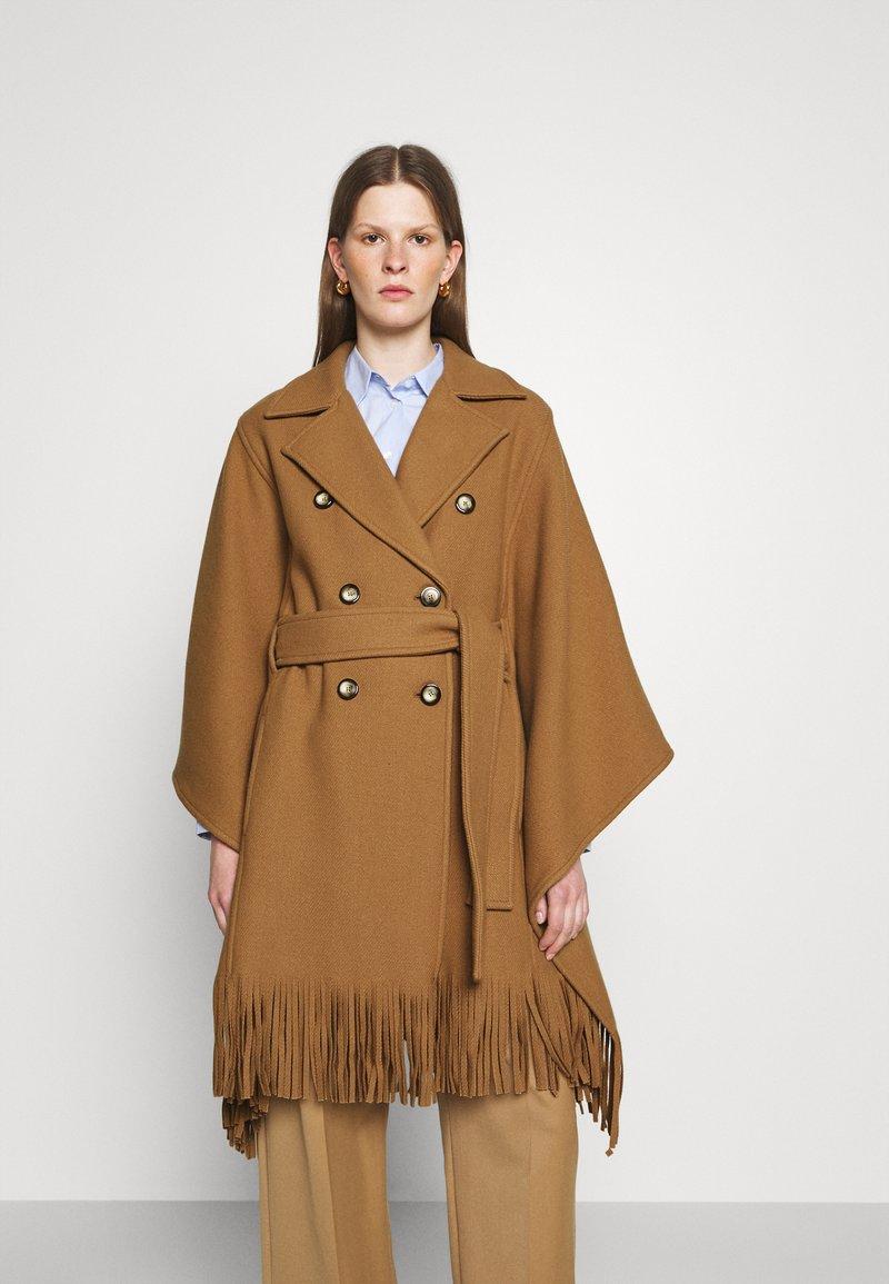 Pinko - PUERTA MANTELLA PANNO - Classic coat - camel