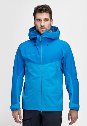 MCRATER  - Waterproof jacket - gentian-dark gentian