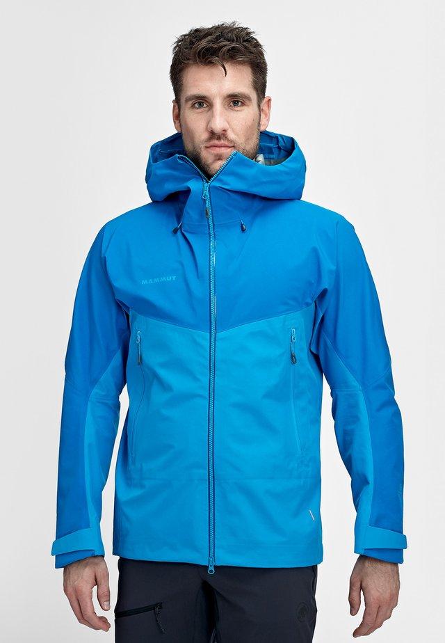 MCRATER  - Waterproof jacket - gentian-dark gentian