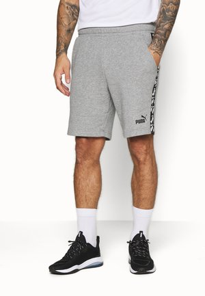 AMPLIFIED SHORTS - Sports shorts - medium gray heather