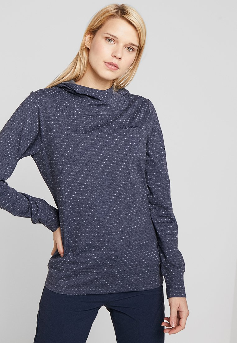 Vaude - WOMENS TUENNO PULLOVER - Long sleeved top - eclipse uni