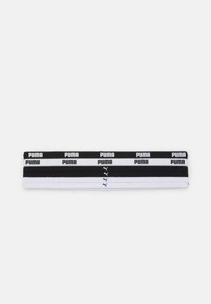 SPORTBANDS 6 PACK - Jiné doplňky - black/white
