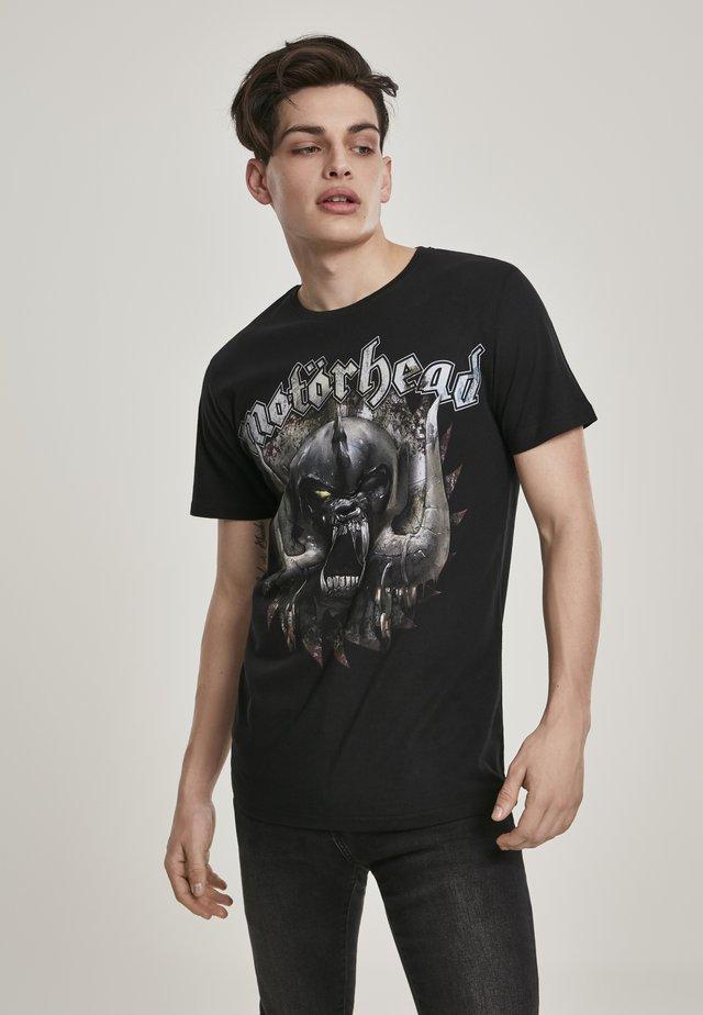 MOTÖRHEAD SAW - T-shirt imprimé - black