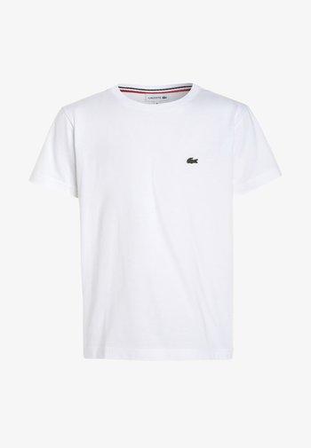 TURTLE NECK - Jednoduché triko - white