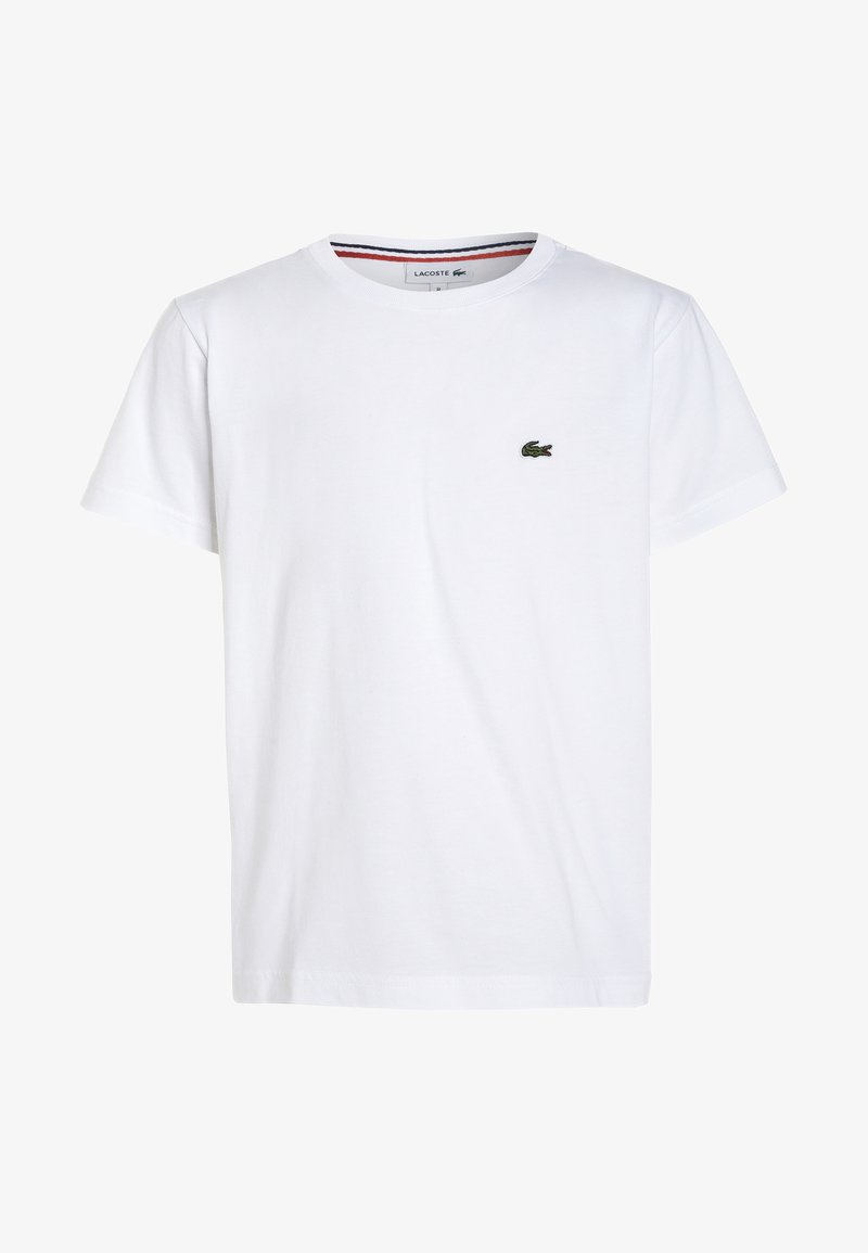 Lacoste - TURTLE NECK - Basic T-shirt - white