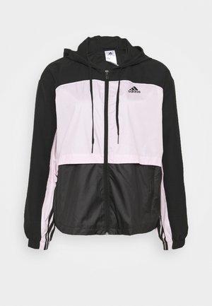 Chaqueta de entrenamiento - black/clear pink