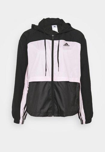 Training jacket - black/clear pink