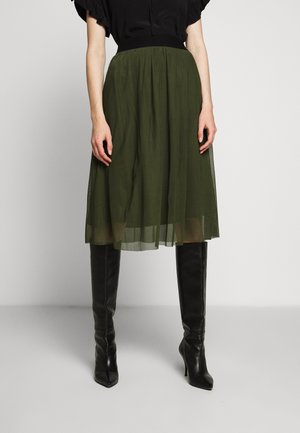 THORA VIOLET SKIRT - A-Linien-Rock - olive green