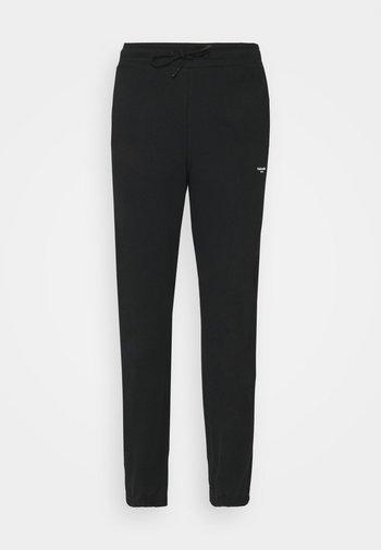 OSLO TROUSER - Teplákové kalhoty - black