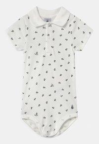 Petit Bateau - Polo shirt - marshmallow/smoking - 0