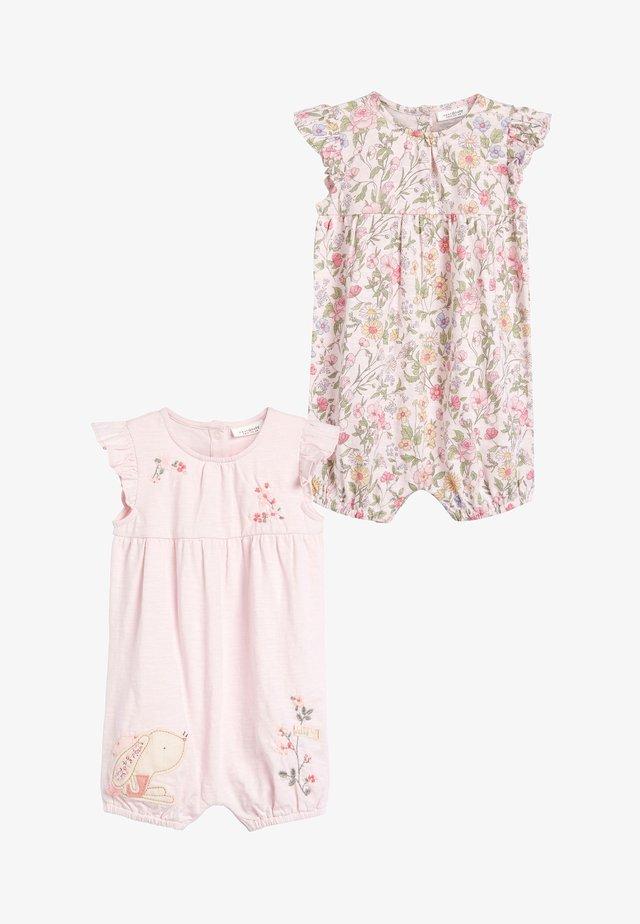 2 PACK  - Jumpsuit - pink