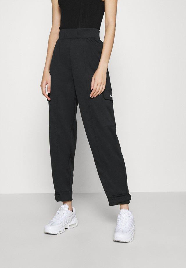 W NSW SWSH - Trousers - black/white