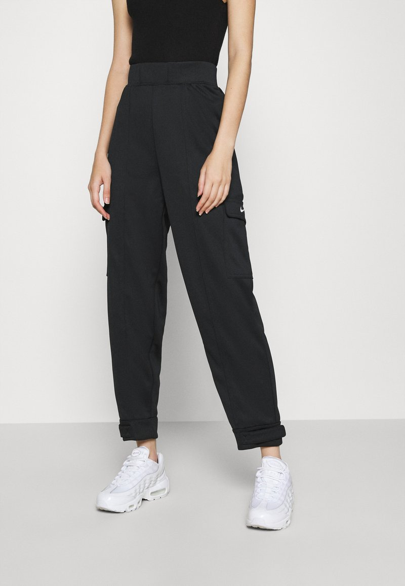 Nike Sportswear - W NSW SWSH - Trousers - black/white