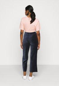 Fila Petite - BIAN CROPPED PANT - Trousers - black iris - 2