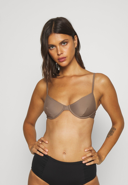 Women SHINY UNDERWIRE - Bikini top