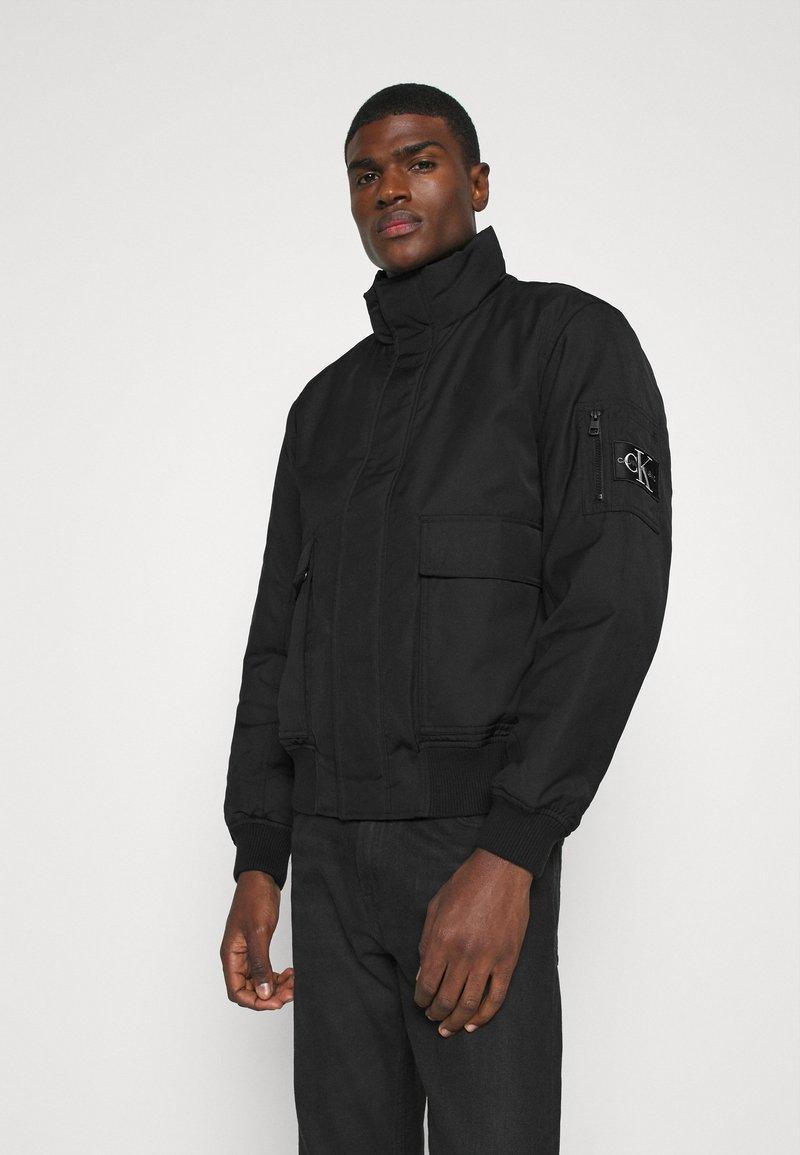 Calvin Klein Jeans - Giubbotto Bomber - black