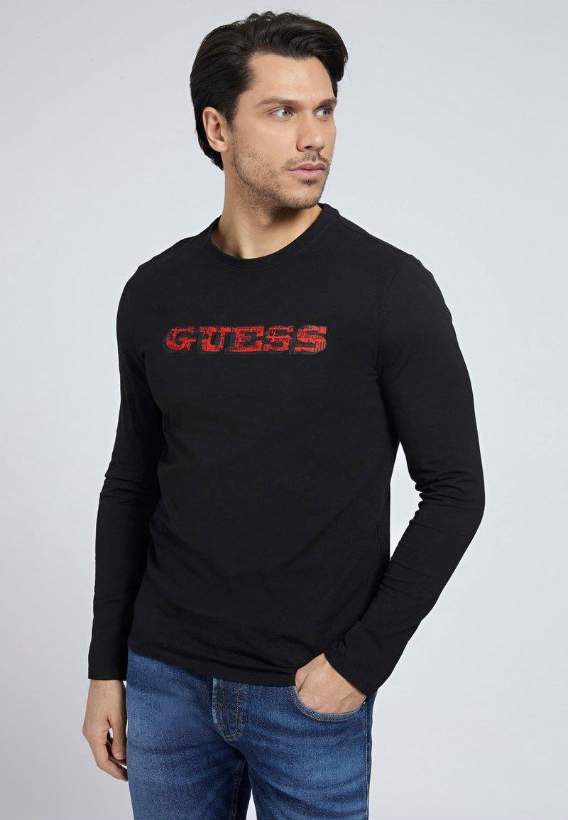 Guess - Long sleeved top - zwart