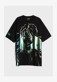 Bershka - MIT PRINT BILLIE EILISH X - T-shirts print - black - 4
