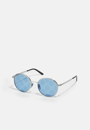 UNISEX - Solbriller - silver-coloured/blue