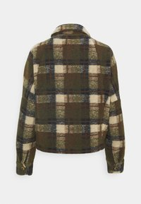 Scotch & Soda - SHORT CHECK JACKET - Summer jacket - brown - 1