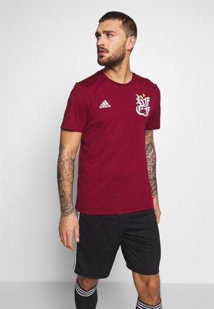 FEF SPANIEN TEE - National team wear - bordeaux