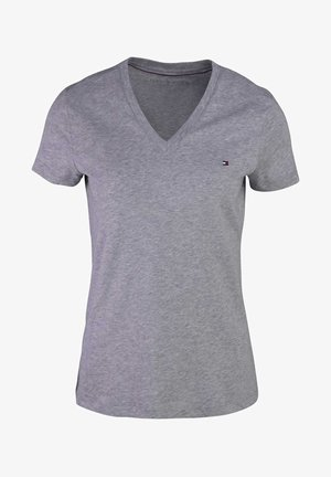 Basic T-shirt - grau