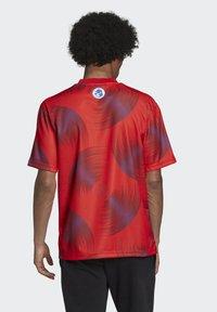 adidas Originals - T-shirts print - red - 1