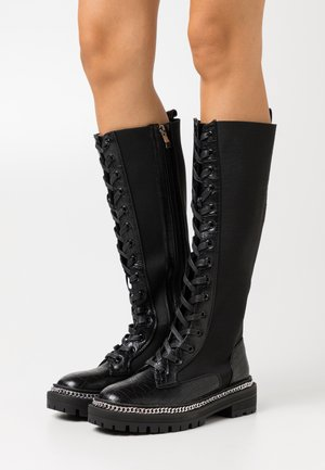 KERRIE - Lace-up boots - black